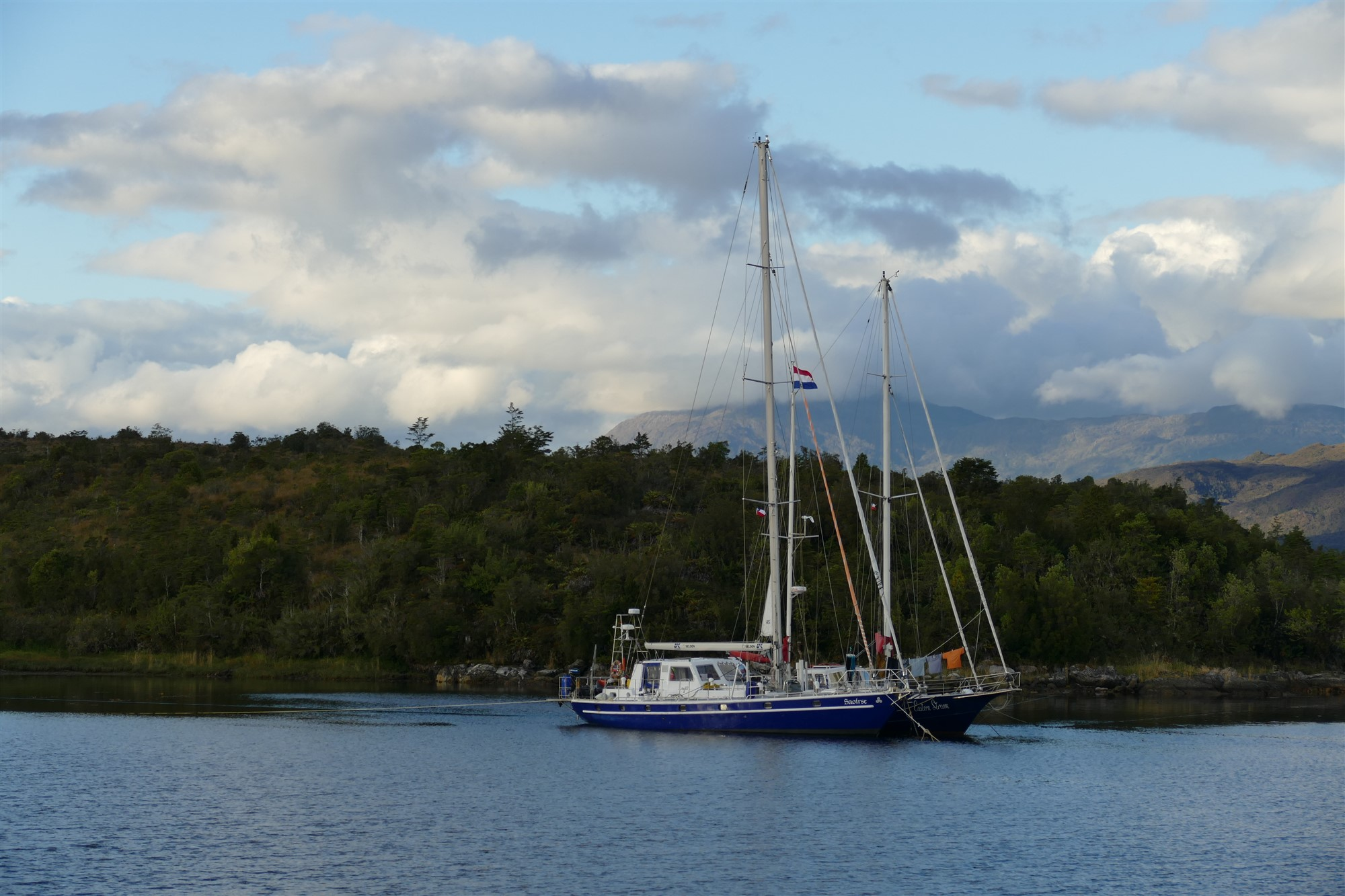 Anchored at Puerto Eden
