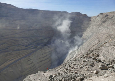 Open Copper Mine Calama