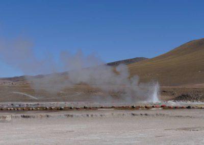 Geijser del tatio at 4200 meters