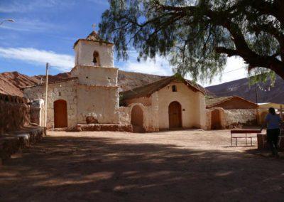 Church in a mountain village