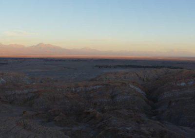 Sunset Atacama dessert