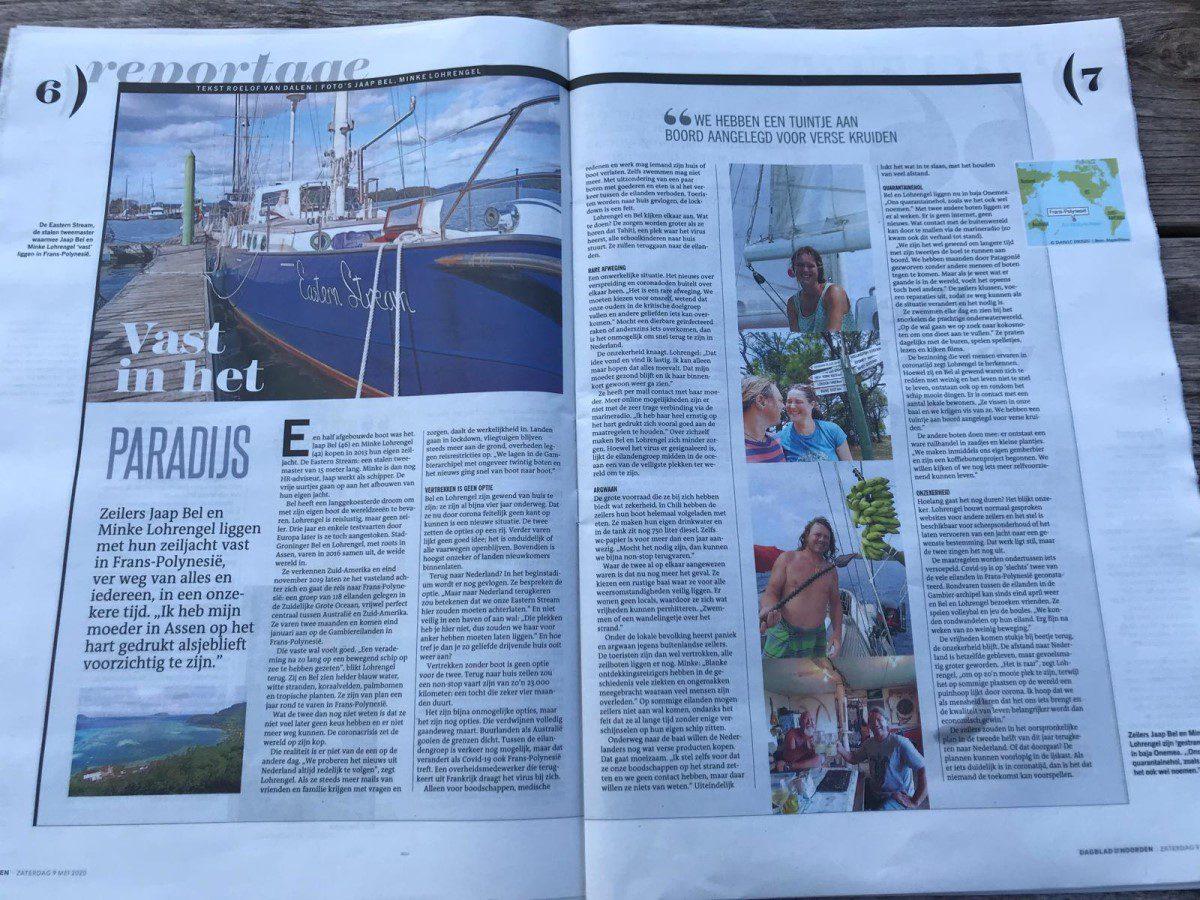 Eastern Stream in Dagblad van het Noorden