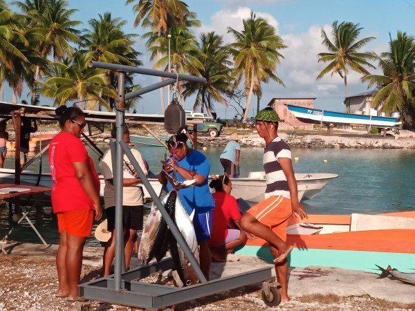 Viswedstrijd Amanu