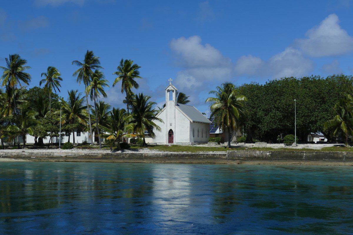 Kerk van Amanu Tuamotus