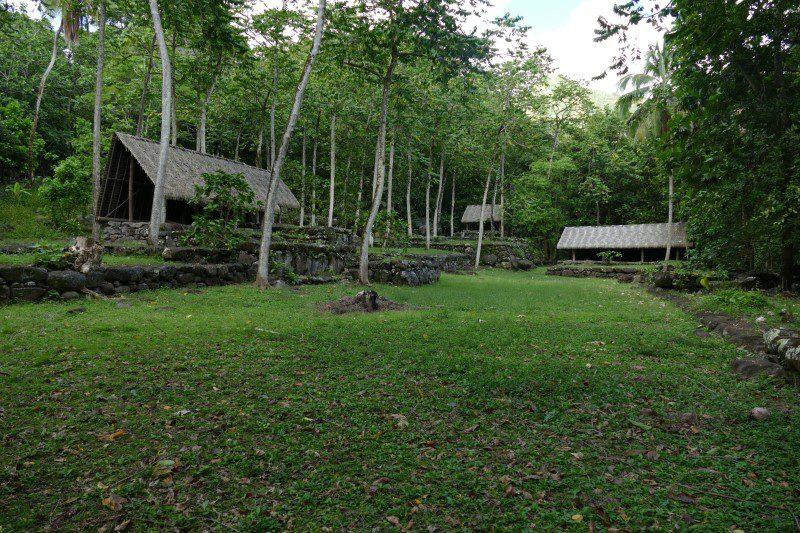 Archiological sites Nuku Hiva