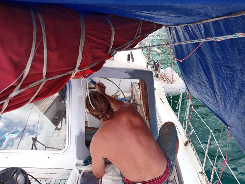 Fixing our dockhouse