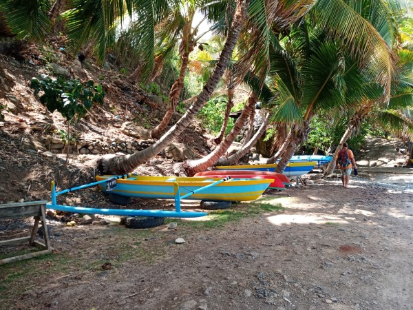 dug outs in the Marquesas