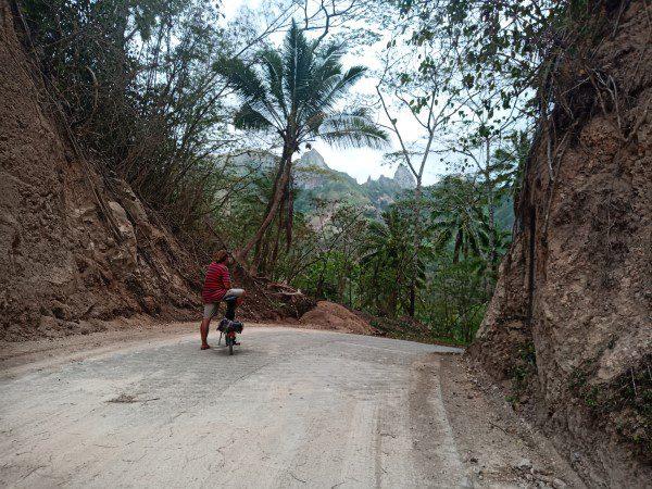 Cycling in Ua Pou