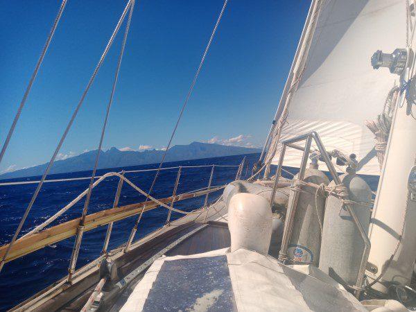 Zeilen naar Tahiti