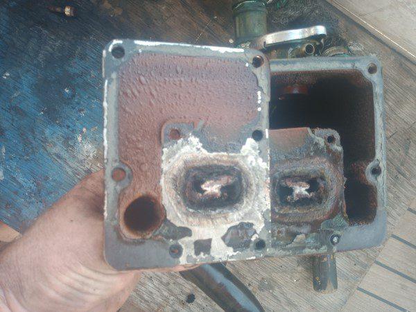Generator exhaust problems